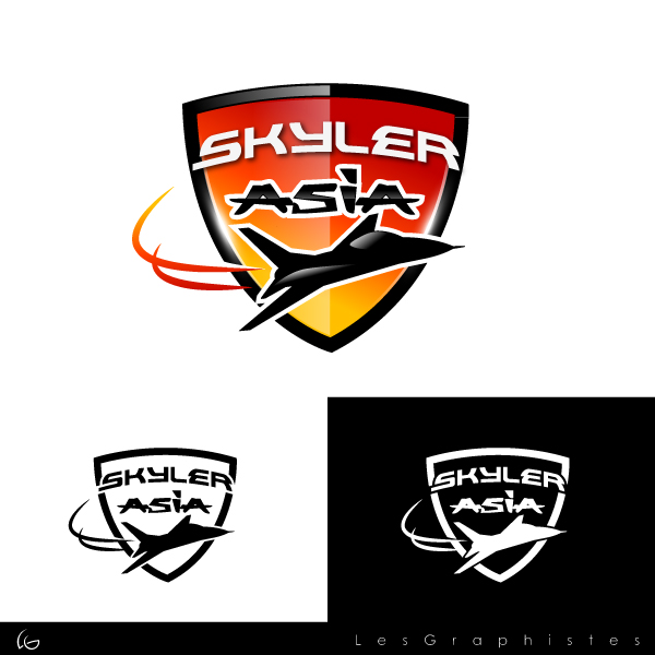 Logo Design by Les-Graphistes - Entry No. 230 in the Logo Design Contest Artistic Logo Design for Skyler.Asia.