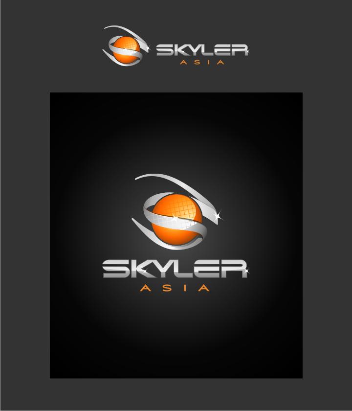 Logo Design by graphicleaf - Entry No. 231 in the Logo Design Contest Artistic Logo Design for Skyler.Asia.