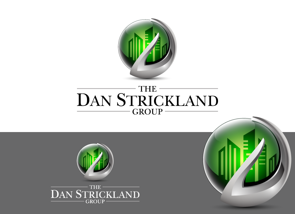 Logo Design by Ujjal Dhar - Entry No. 171 in the Logo Design Contest Creative Logo Design for The Dan Strickland Group.