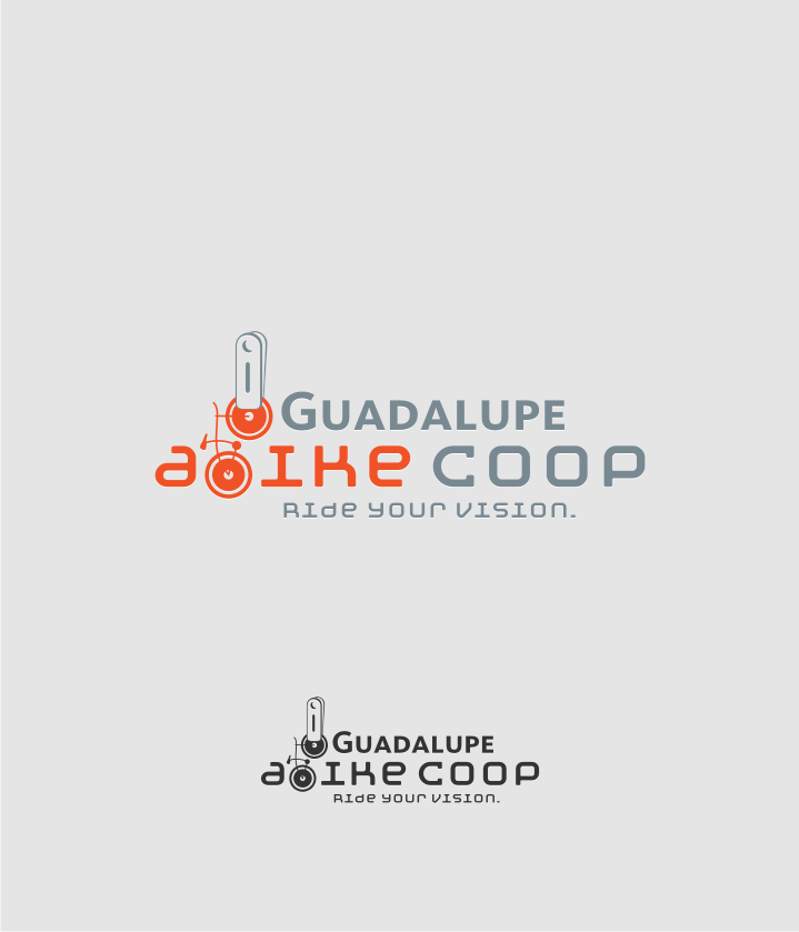 Logo Design by graphicleaf - Entry No. 17 in the Logo Design Contest Inspiring Logo Design for Guadalupe Earn a Bike Coop..