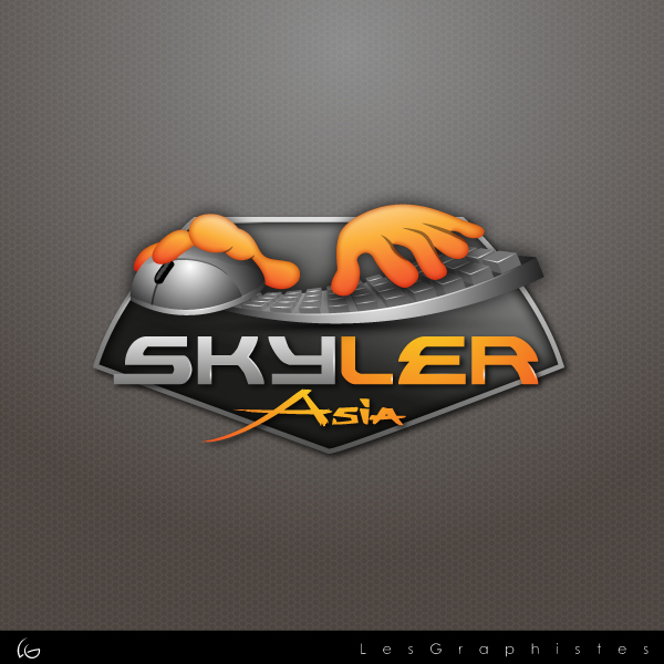 Logo Design by Les-Graphistes - Entry No. 234 in the Logo Design Contest Artistic Logo Design for Skyler.Asia.