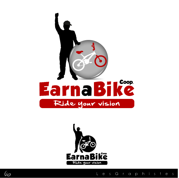 Logo Design by Les-Graphistes - Entry No. 18 in the Logo Design Contest Inspiring Logo Design for Guadalupe Earn a Bike Coop..