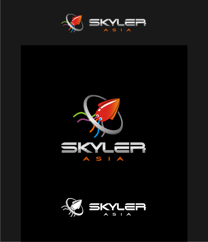 Logo Design by graphicleaf - Entry No. 236 in the Logo Design Contest Artistic Logo Design for Skyler.Asia.
