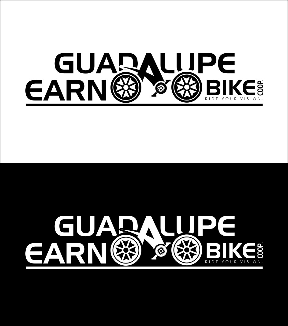 Logo Design by RasYa Muhammad Athaya - Entry No. 19 in the Logo Design Contest Inspiring Logo Design for Guadalupe Earn a Bike Coop..
