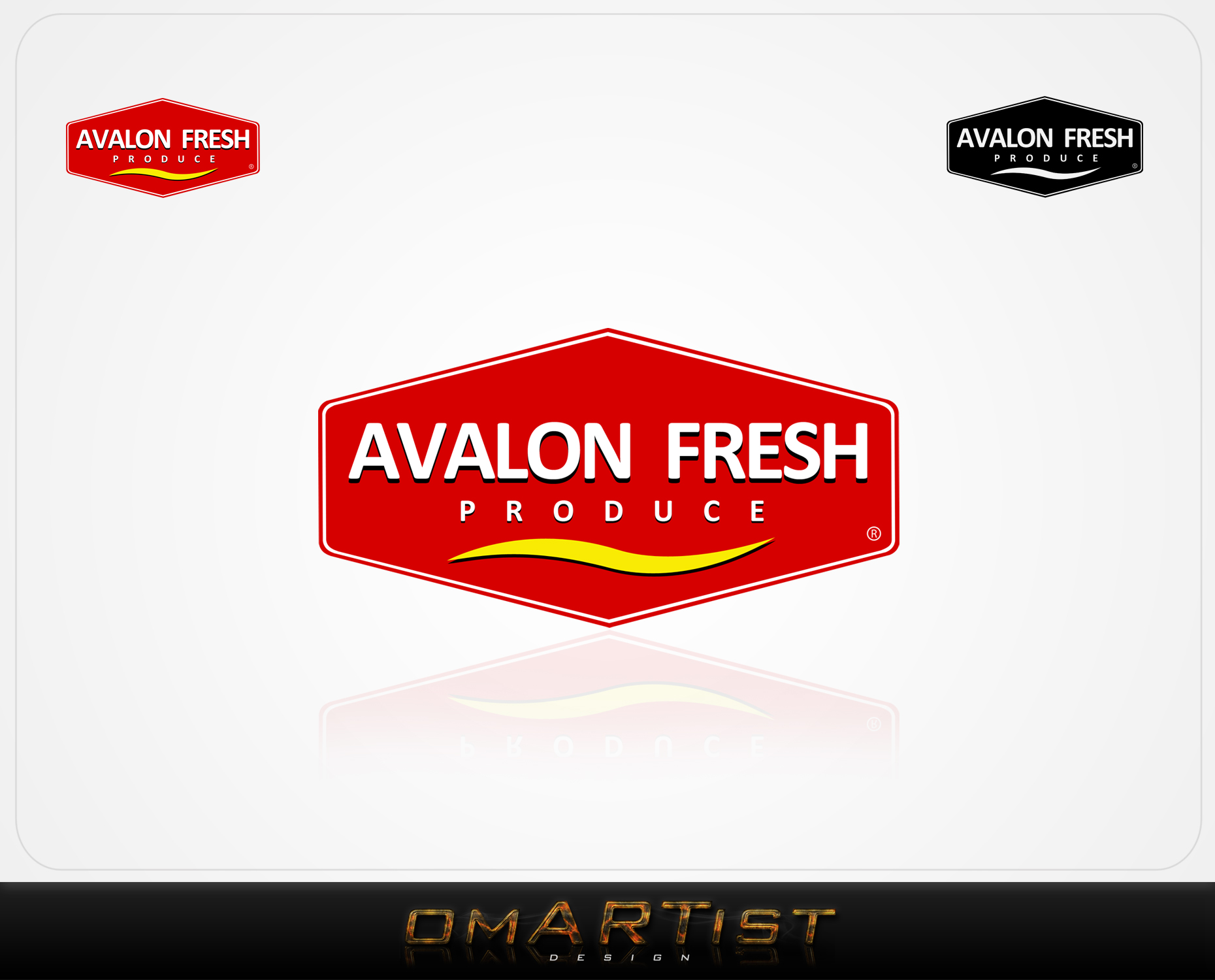 Logo Design by omARTist - Entry No. 73 in the Logo Design Contest Unique Logo Design Wanted for Avalon Fresh Produce.