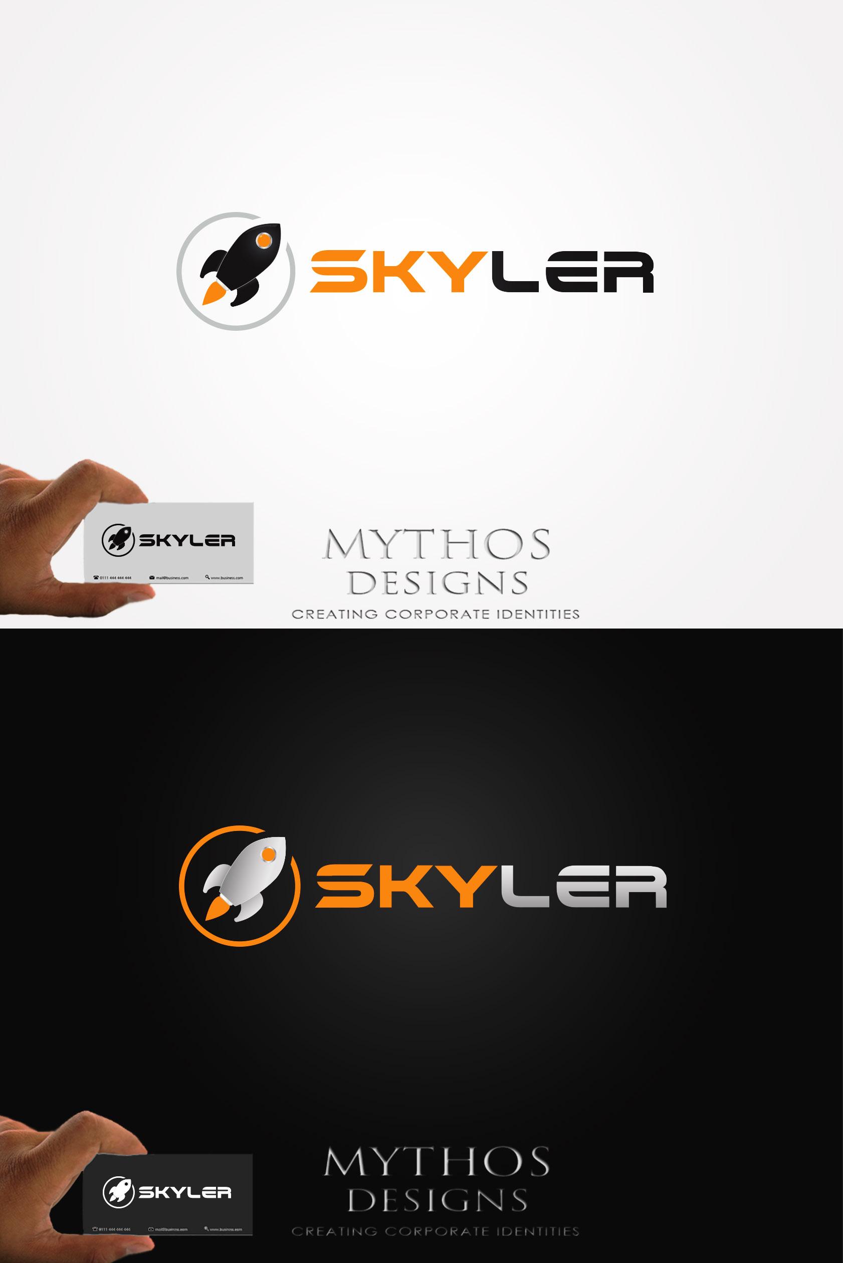 Logo Design by Mythos Designs - Entry No. 238 in the Logo Design Contest Artistic Logo Design for Skyler.Asia.