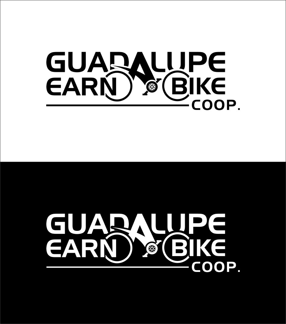 Logo Design by Ngepet_art - Entry No. 20 in the Logo Design Contest Inspiring Logo Design for Guadalupe Earn a Bike Coop..