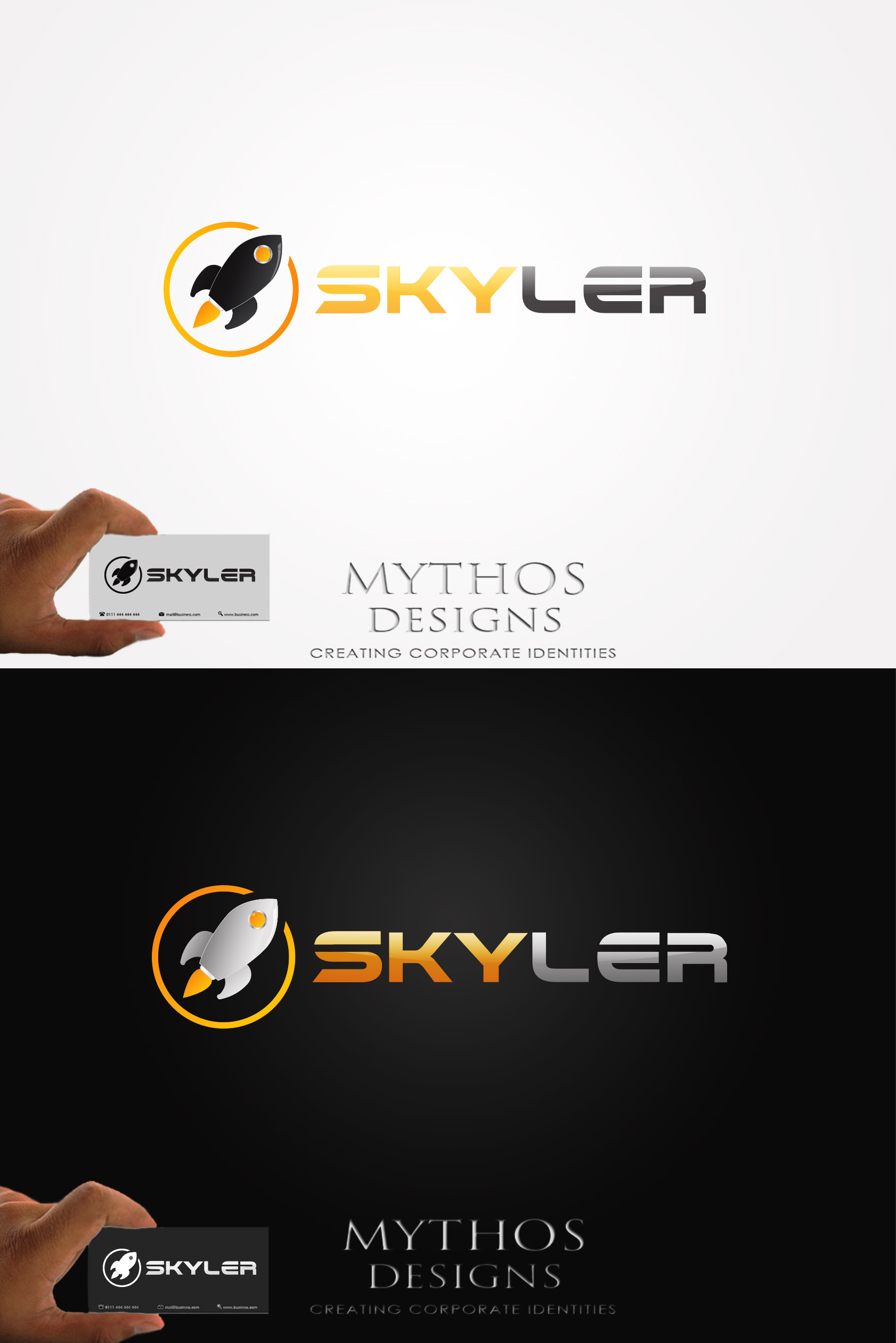 Logo Design by Mythos Designs - Entry No. 240 in the Logo Design Contest Artistic Logo Design for Skyler.Asia.