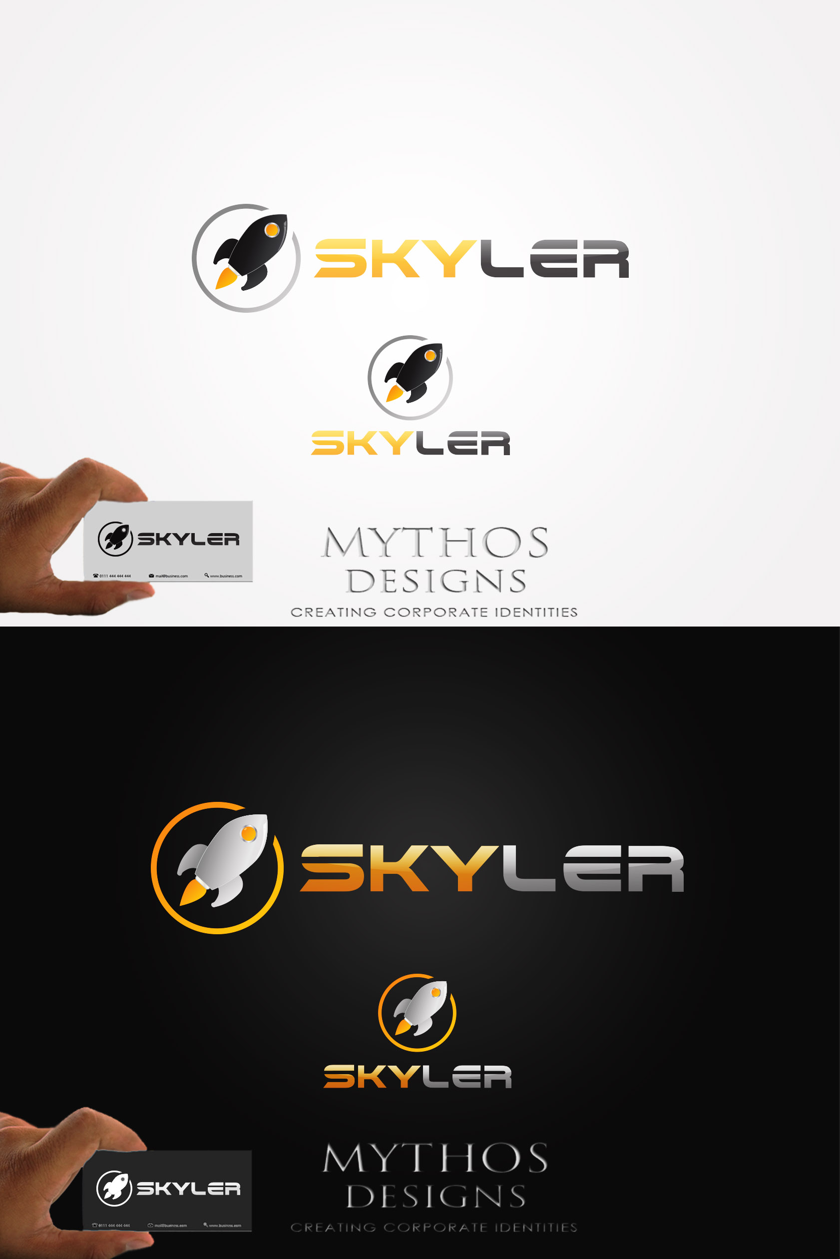 Logo Design by Mythos Designs - Entry No. 242 in the Logo Design Contest Artistic Logo Design for Skyler.Asia.