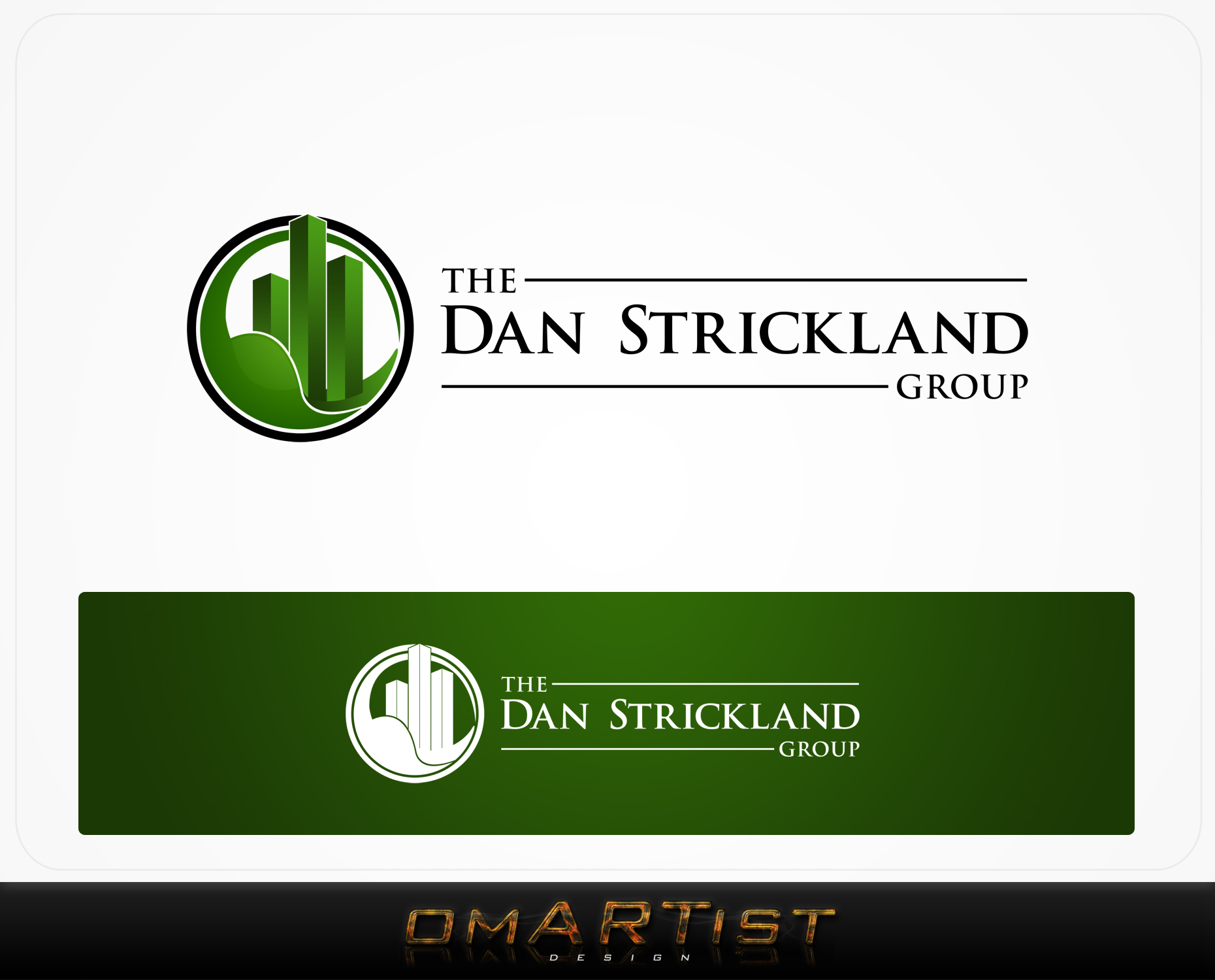 Logo Design by omARTist - Entry No. 175 in the Logo Design Contest Creative Logo Design for The Dan Strickland Group.