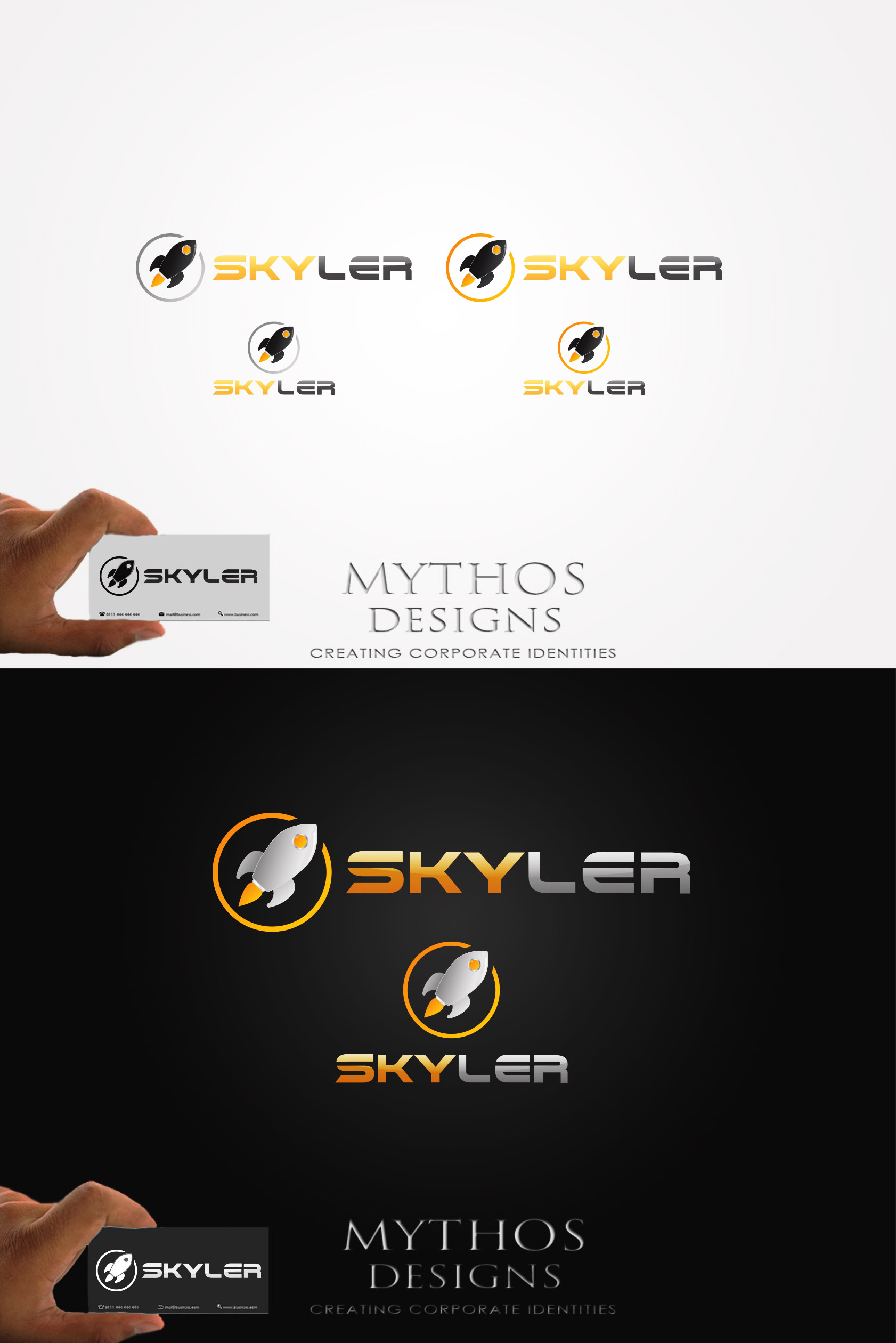 Logo Design by Mythos Designs - Entry No. 243 in the Logo Design Contest Artistic Logo Design for Skyler.Asia.