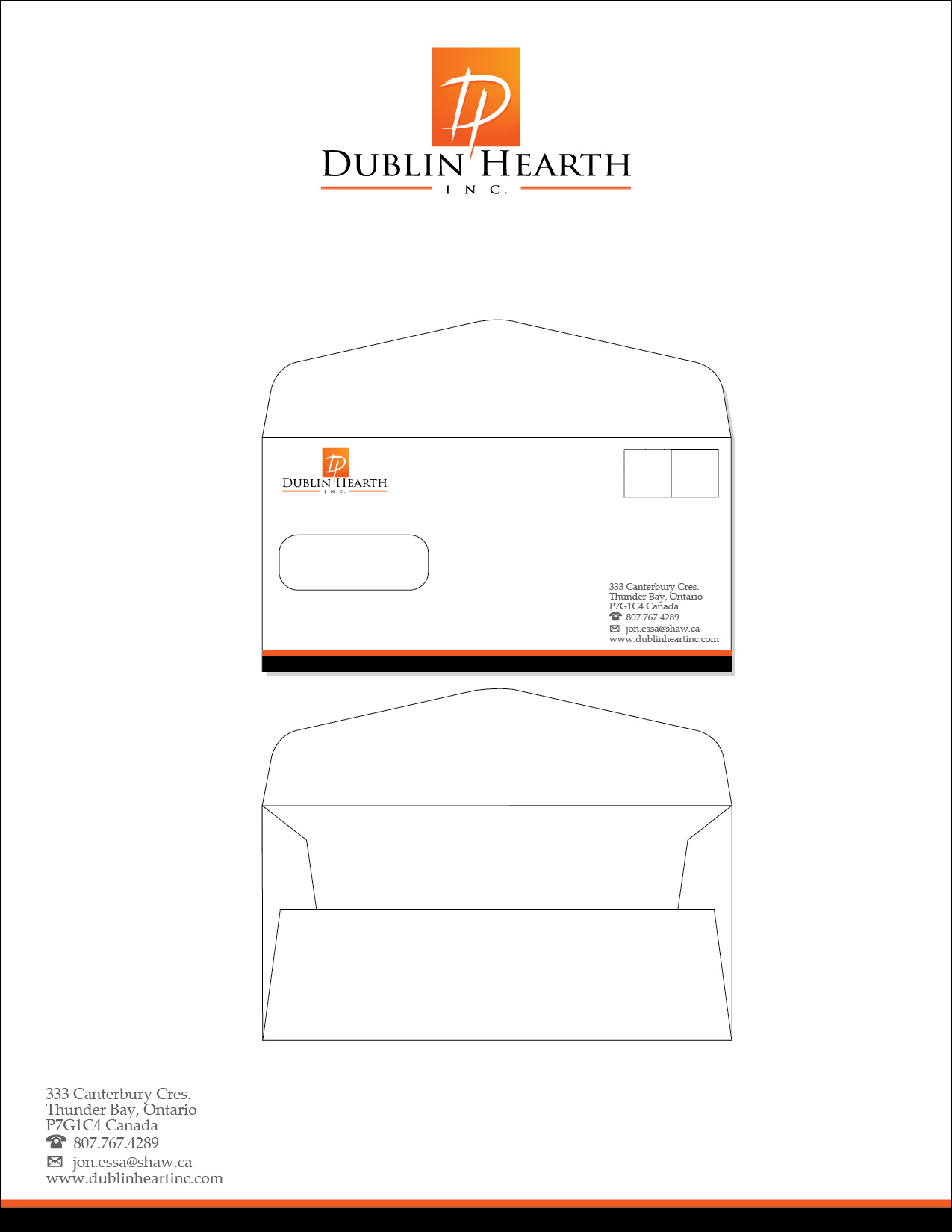 Business Card Design by lagalag - Entry No. 68 in the Business Card Design Contest Business Card and Letterhead  Design Dublin Hearth Inc..