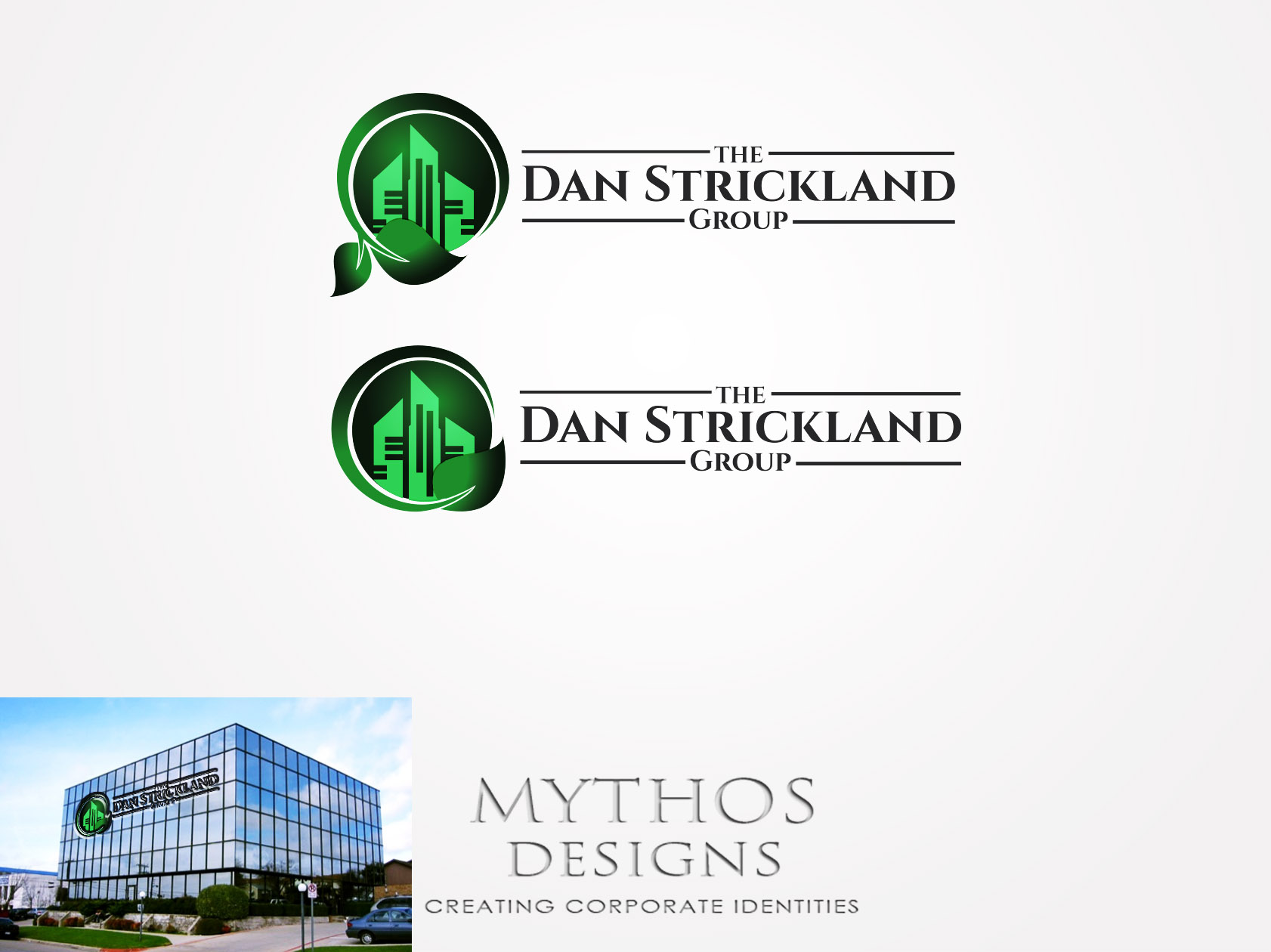 Logo Design by Mythos Designs - Entry No. 179 in the Logo Design Contest Creative Logo Design for The Dan Strickland Group.