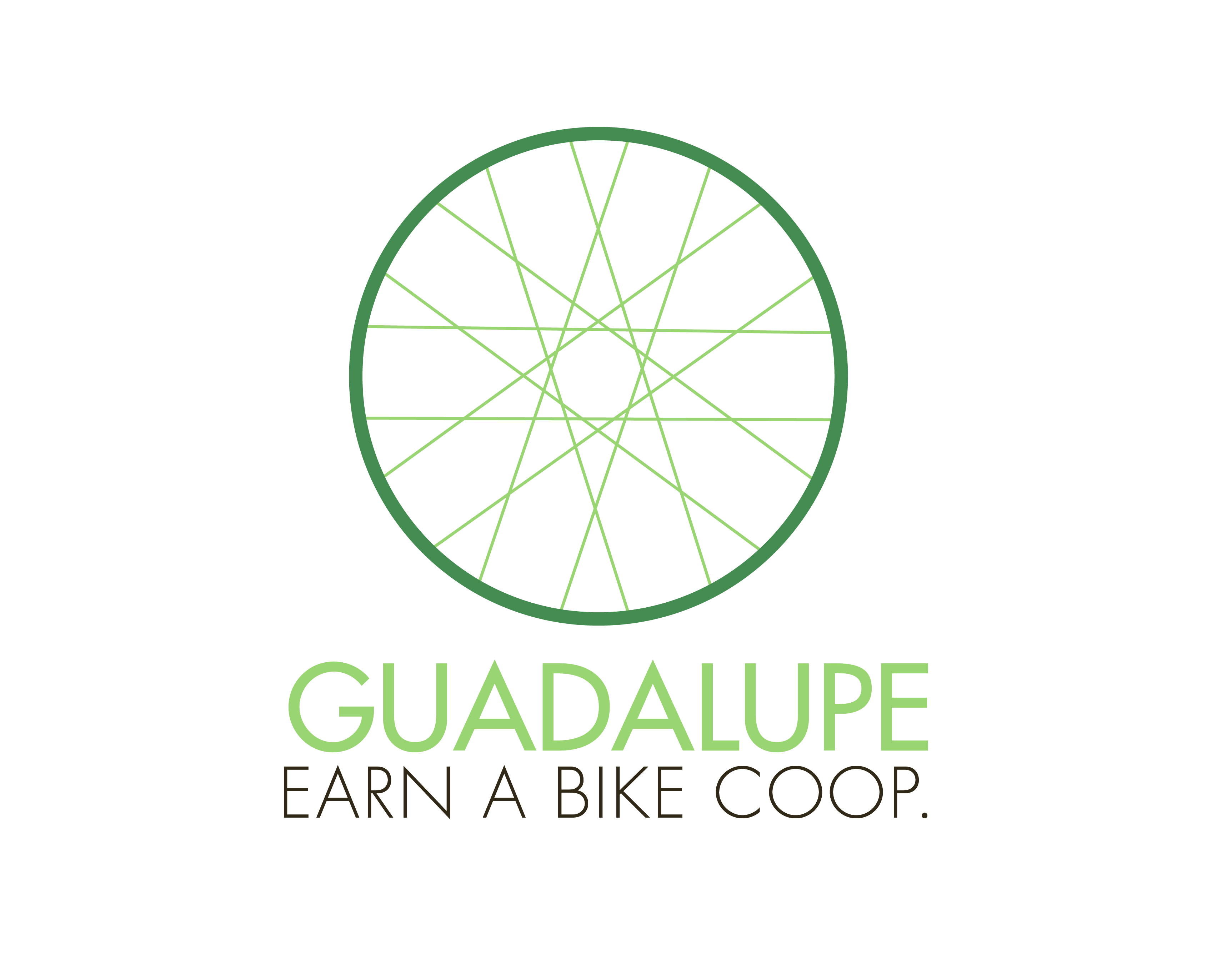 Logo Design by Gretchen Romin - Entry No. 22 in the Logo Design Contest Inspiring Logo Design for Guadalupe Earn a Bike Coop..