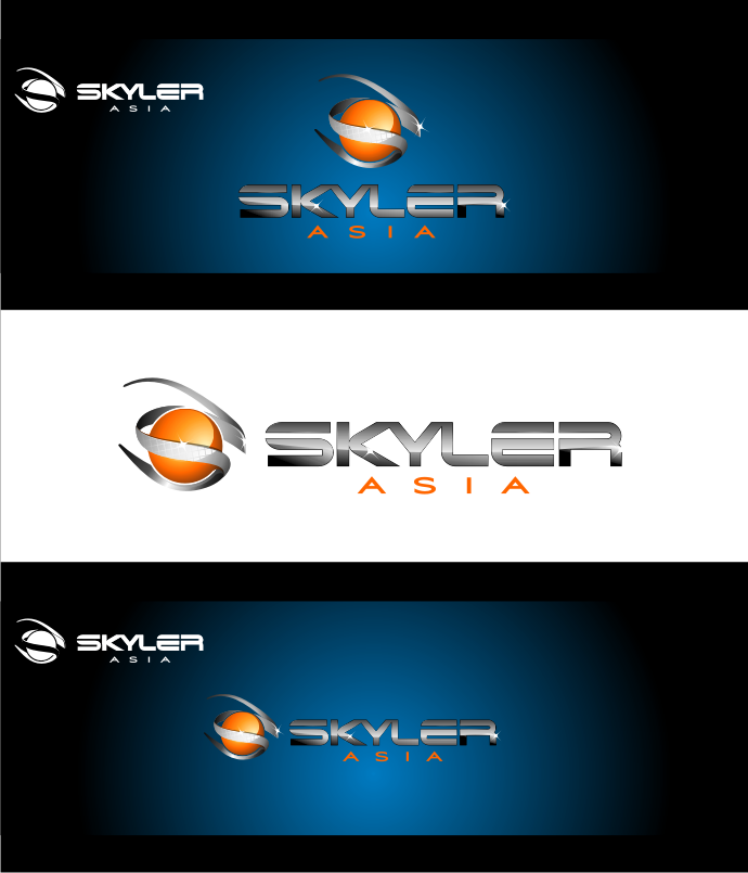 Logo Design by graphicleaf - Entry No. 252 in the Logo Design Contest Artistic Logo Design for Skyler.Asia.