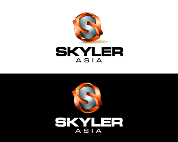 Logo Design by Private User - Entry No. 256 in the Logo Design Contest Artistic Logo Design for Skyler.Asia.