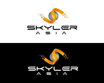 Logo Design by Private User - Entry No. 260 in the Logo Design Contest Artistic Logo Design for Skyler.Asia.