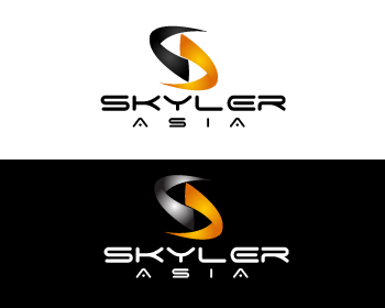 Logo Design by Private User - Entry No. 262 in the Logo Design Contest Artistic Logo Design for Skyler.Asia.