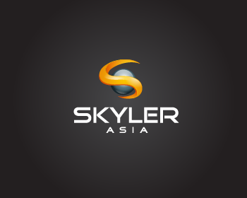Logo Design by Private User - Entry No. 265 in the Logo Design Contest Artistic Logo Design for Skyler.Asia.