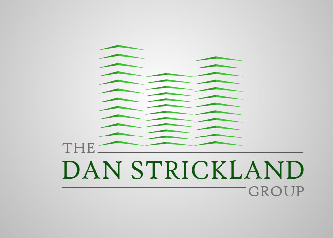 Logo Design by Boba Dizajn - Entry No. 203 in the Logo Design Contest Creative Logo Design for The Dan Strickland Group.
