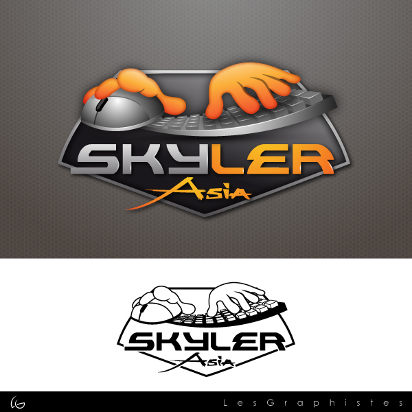 Logo Design by Les-Graphistes - Entry No. 277 in the Logo Design Contest Artistic Logo Design for Skyler.Asia.