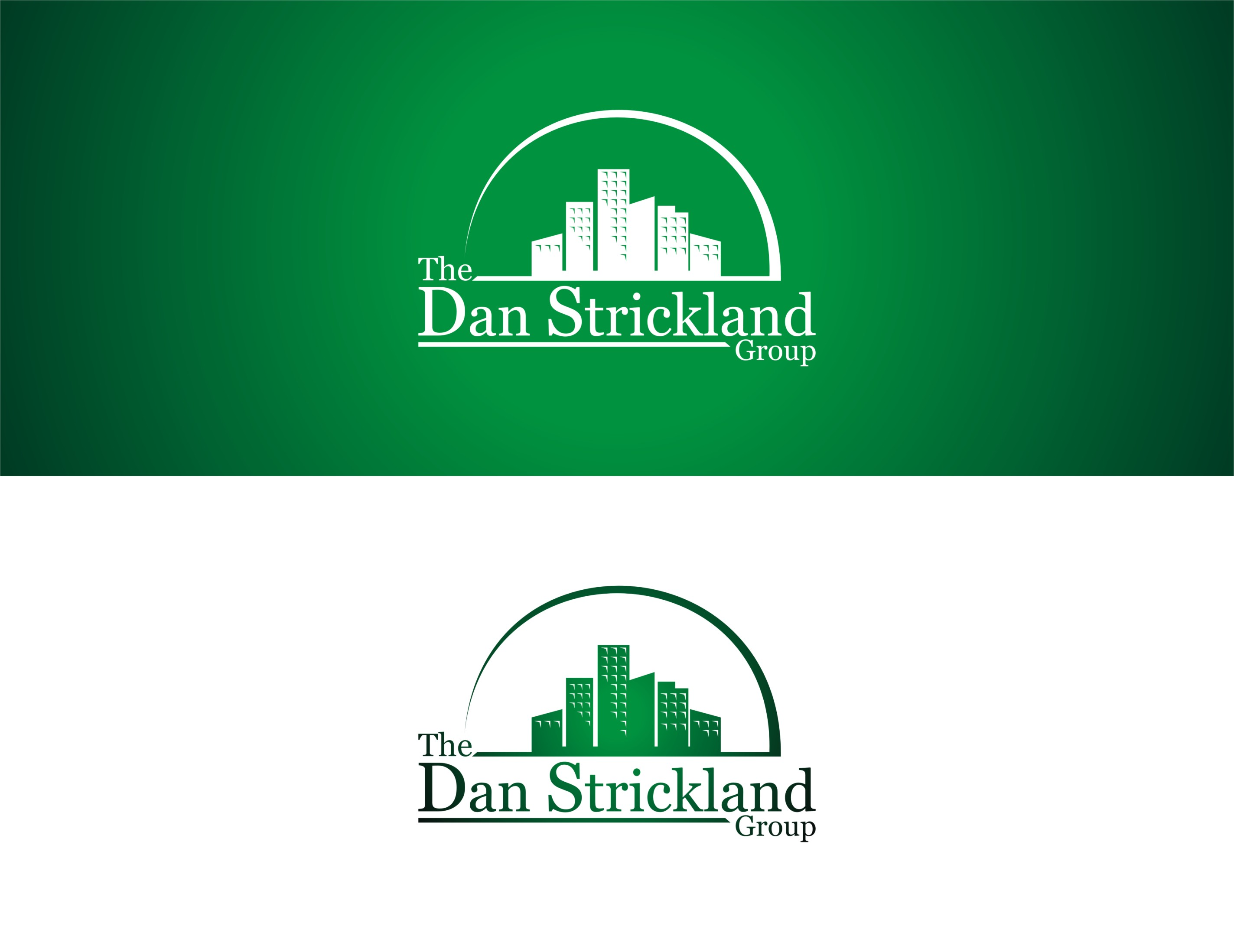Logo Design by Syahril Nazwar - Entry No. 210 in the Logo Design Contest Creative Logo Design for The Dan Strickland Group.
