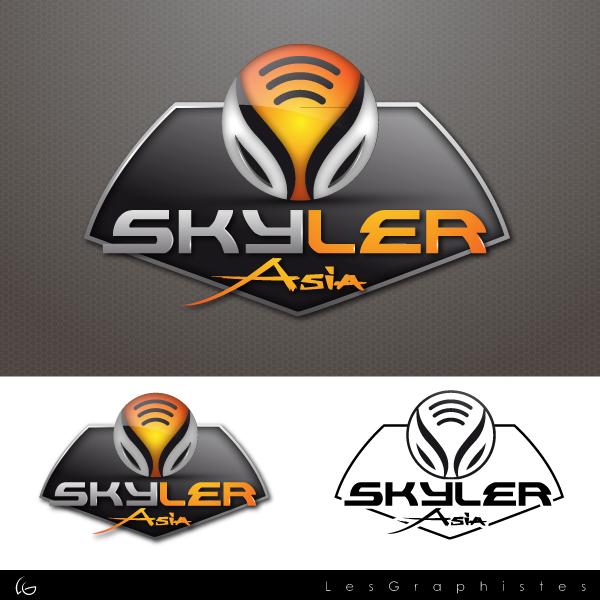 Logo Design by Les-Graphistes - Entry No. 279 in the Logo Design Contest Artistic Logo Design for Skyler.Asia.