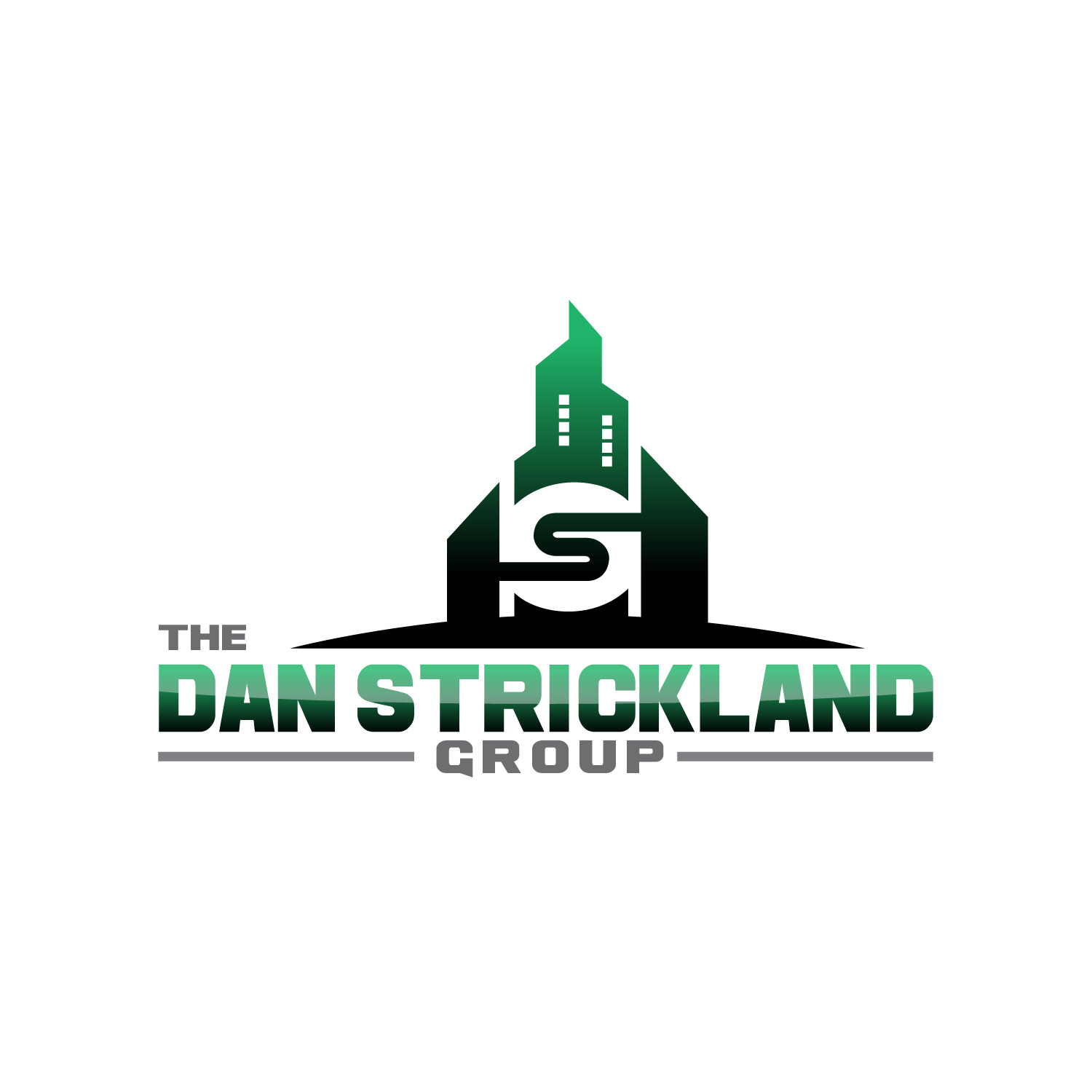 Logo Design by lagalag - Entry No. 213 in the Logo Design Contest Creative Logo Design for The Dan Strickland Group.