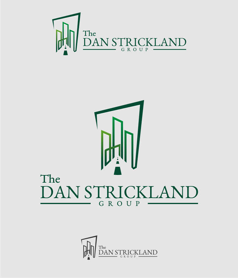 Logo Design by graphicleaf - Entry No. 217 in the Logo Design Contest Creative Logo Design for The Dan Strickland Group.
