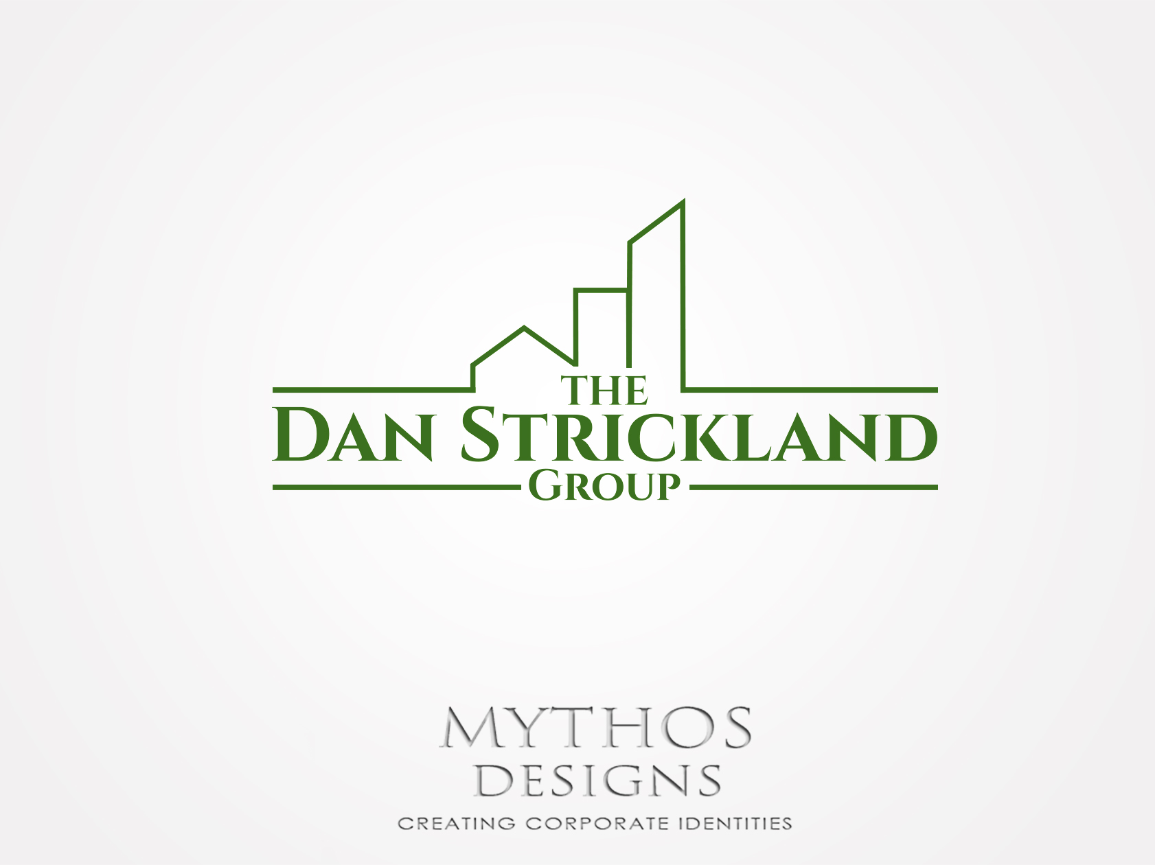 Logo Design by Mythos Designs - Entry No. 235 in the Logo Design Contest Creative Logo Design for The Dan Strickland Group.