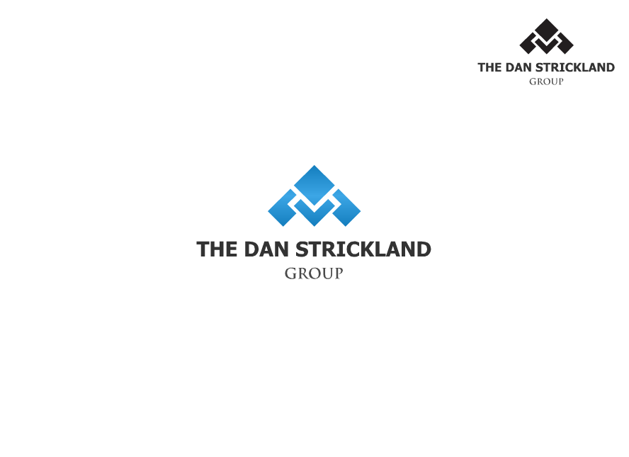 Logo Design by Tathastu Sharma - Entry No. 236 in the Logo Design Contest Creative Logo Design for The Dan Strickland Group.