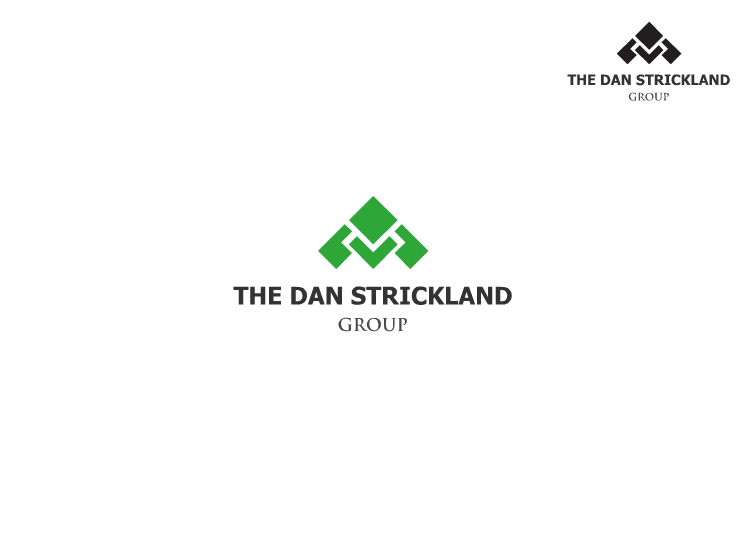 Logo Design by Tathastu Sharma - Entry No. 237 in the Logo Design Contest Creative Logo Design for The Dan Strickland Group.