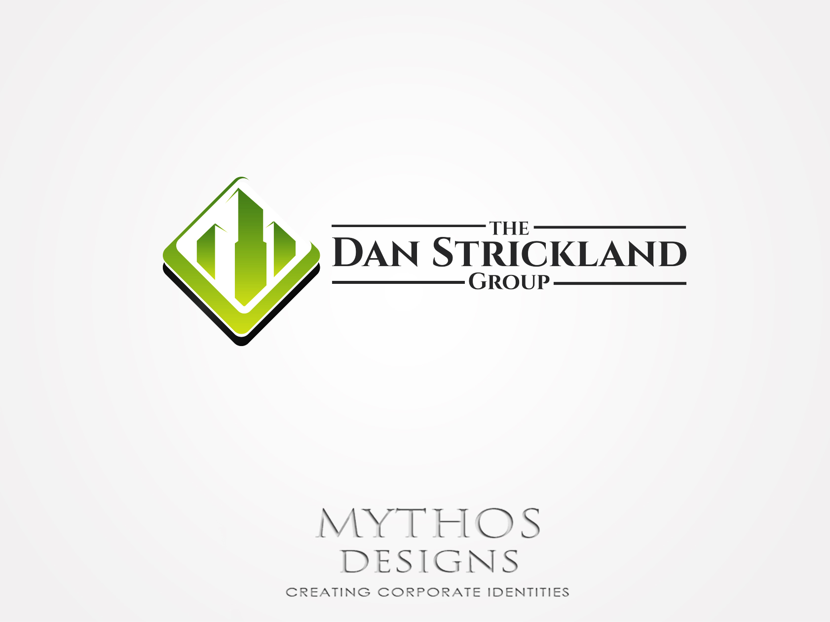 Logo Design by Mythos Designs - Entry No. 240 in the Logo Design Contest Creative Logo Design for The Dan Strickland Group.