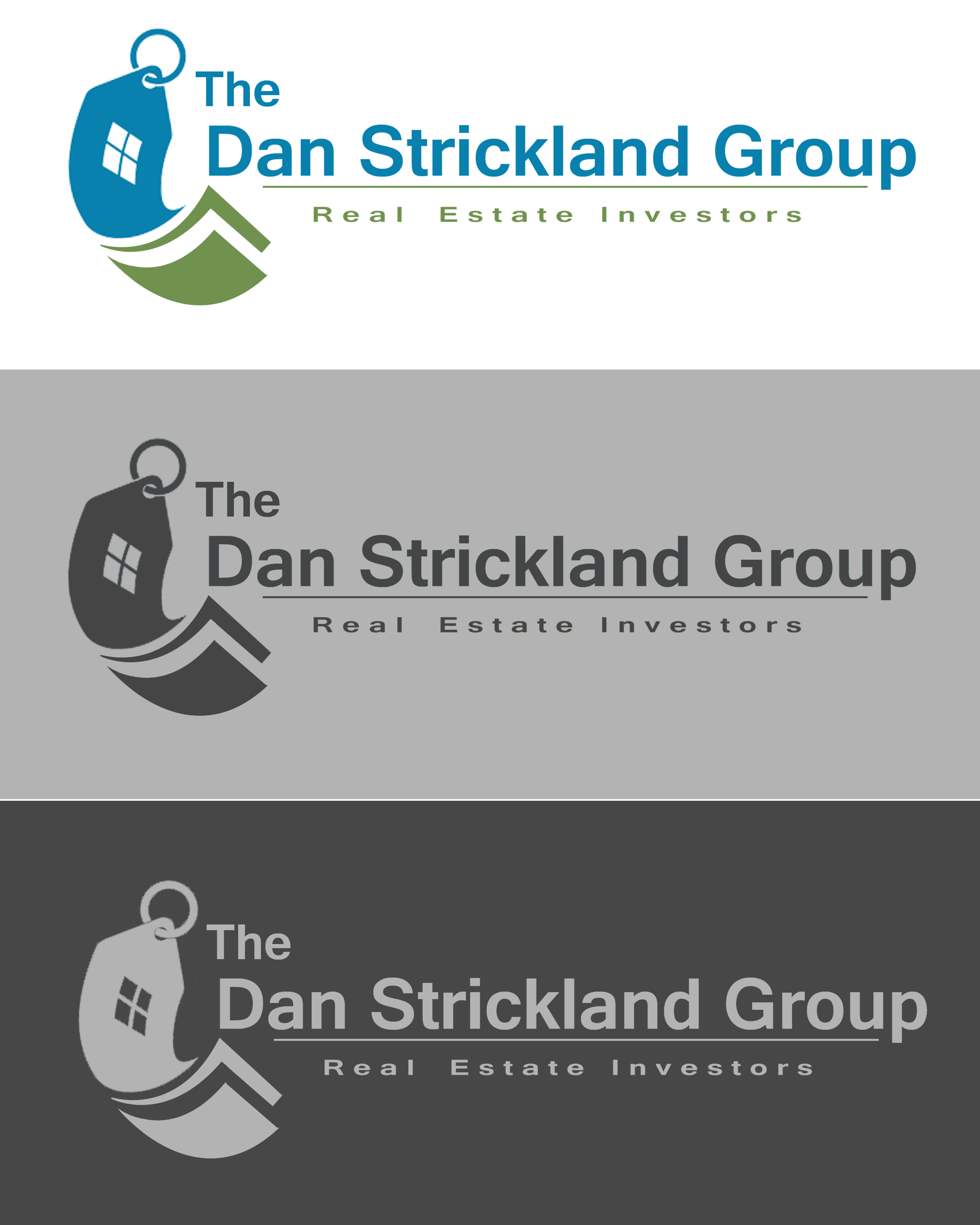 Logo Design by Jack Rajgor - Entry No. 243 in the Logo Design Contest Creative Logo Design for The Dan Strickland Group.