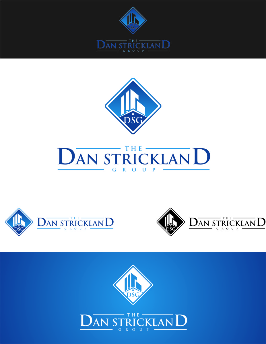 Logo Design by Ngepet_art - Entry No. 247 in the Logo Design Contest Creative Logo Design for The Dan Strickland Group.