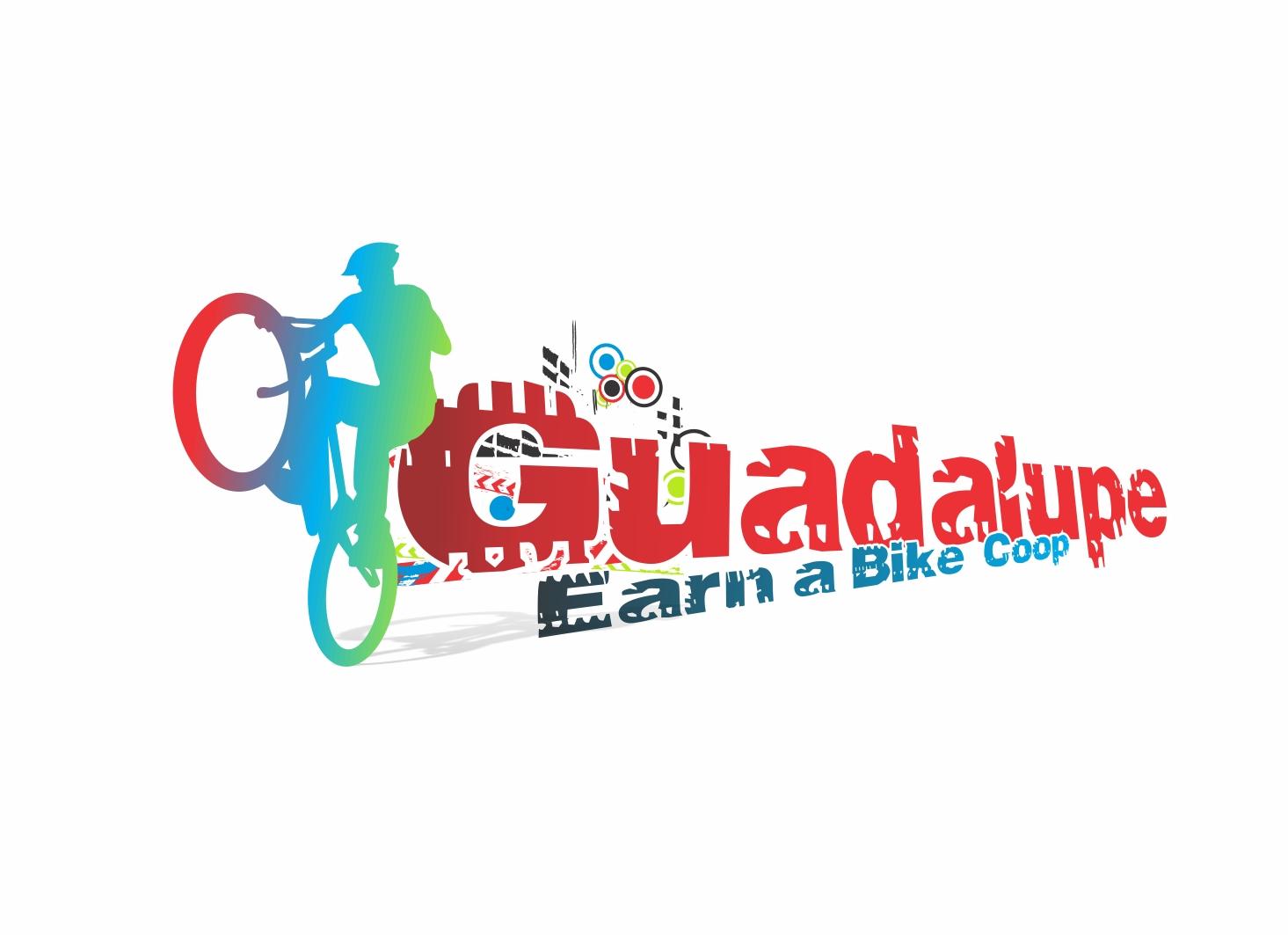 Logo Design by Zdravko Krulj - Entry No. 30 in the Logo Design Contest Inspiring Logo Design for Guadalupe Earn a Bike Coop..