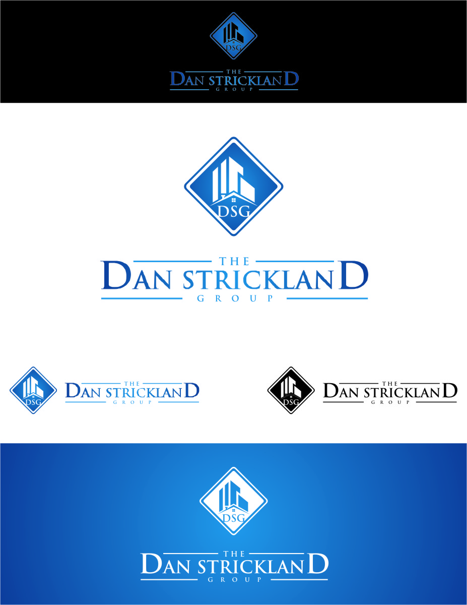 Logo Design by Ngepet_art - Entry No. 248 in the Logo Design Contest Creative Logo Design for The Dan Strickland Group.