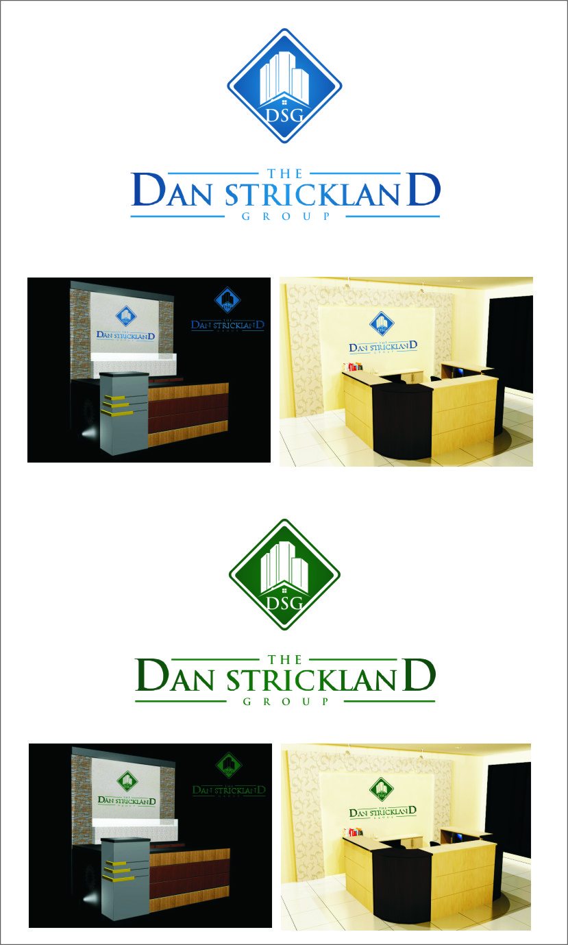 Logo Design by Ngepet_art - Entry No. 249 in the Logo Design Contest Creative Logo Design for The Dan Strickland Group.