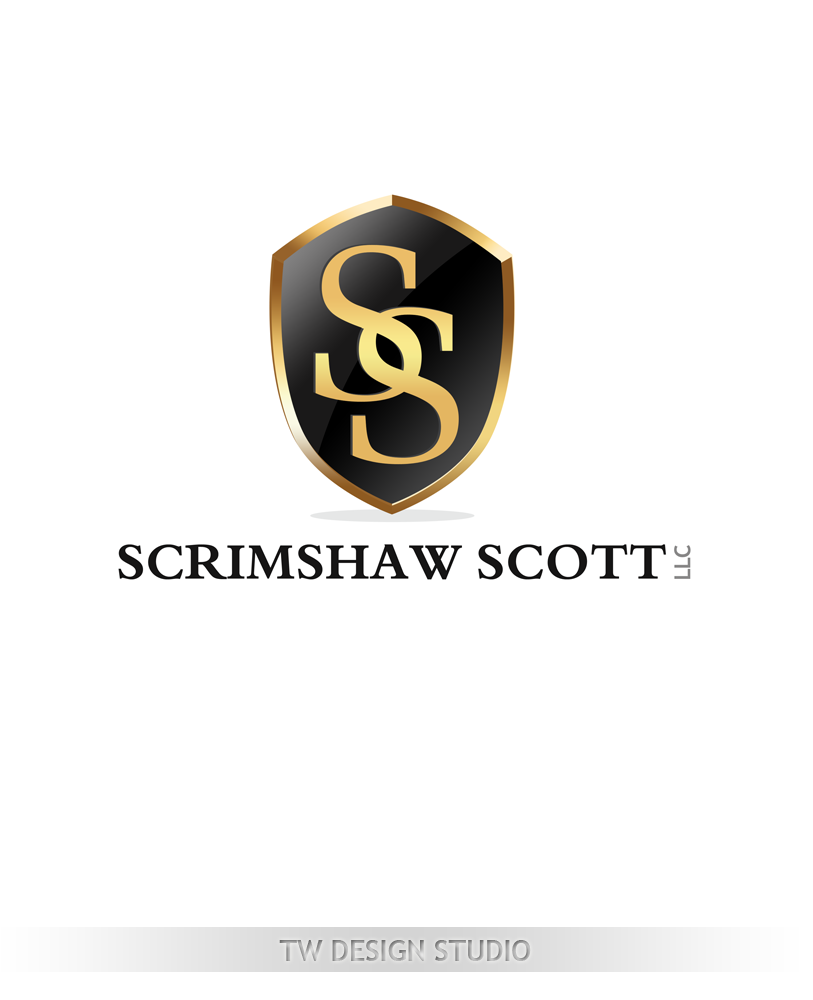 Logo Design by Private User - Entry No. 26 in the Logo Design Contest Creative Logo Design for Scrimshaw Scott LLP.