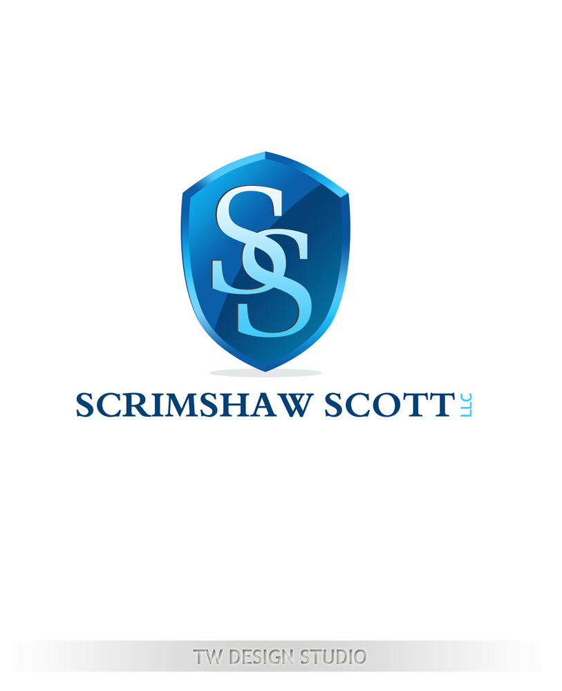 Logo Design by Private User - Entry No. 27 in the Logo Design Contest Creative Logo Design for Scrimshaw Scott LLP.