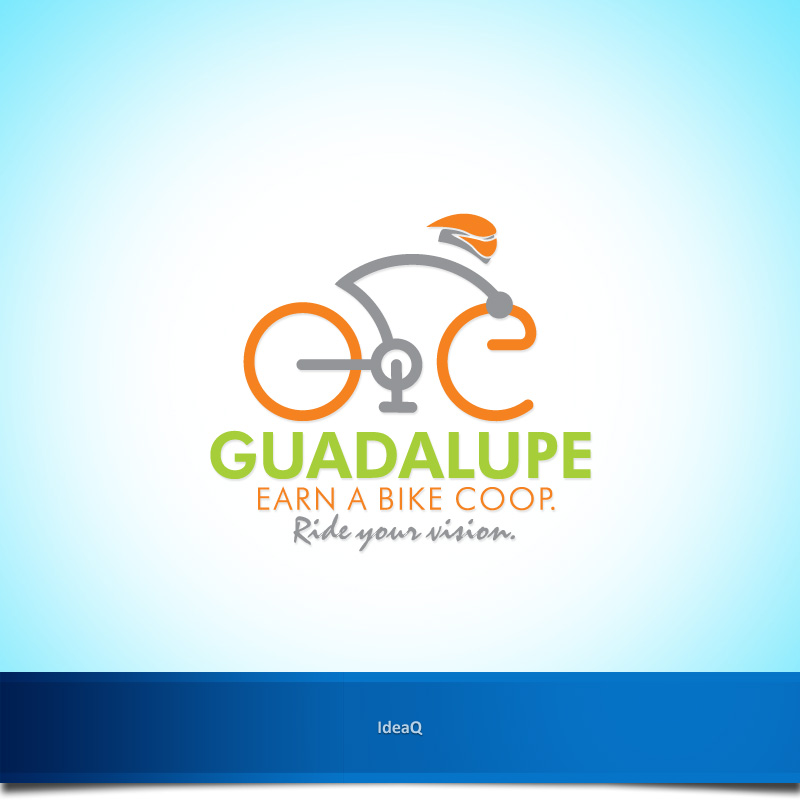 Logo Design by Private User - Entry No. 31 in the Logo Design Contest Inspiring Logo Design for Guadalupe Earn a Bike Coop..