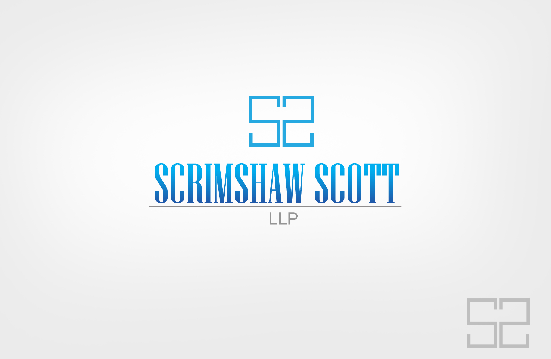 Logo Design by Jan Chua - Entry No. 29 in the Logo Design Contest Creative Logo Design for Scrimshaw Scott LLP.