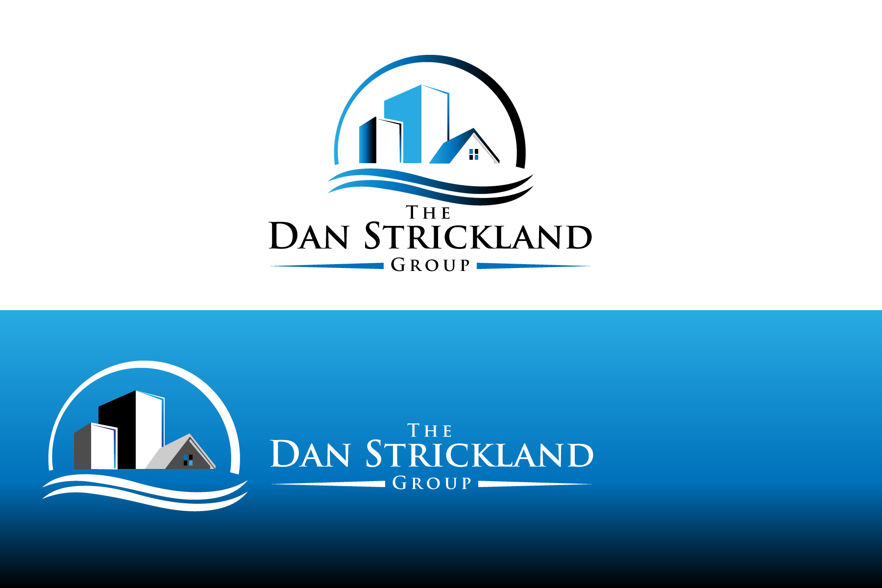 Logo Design by Jagdeep Singh - Entry No. 260 in the Logo Design Contest Creative Logo Design for The Dan Strickland Group.