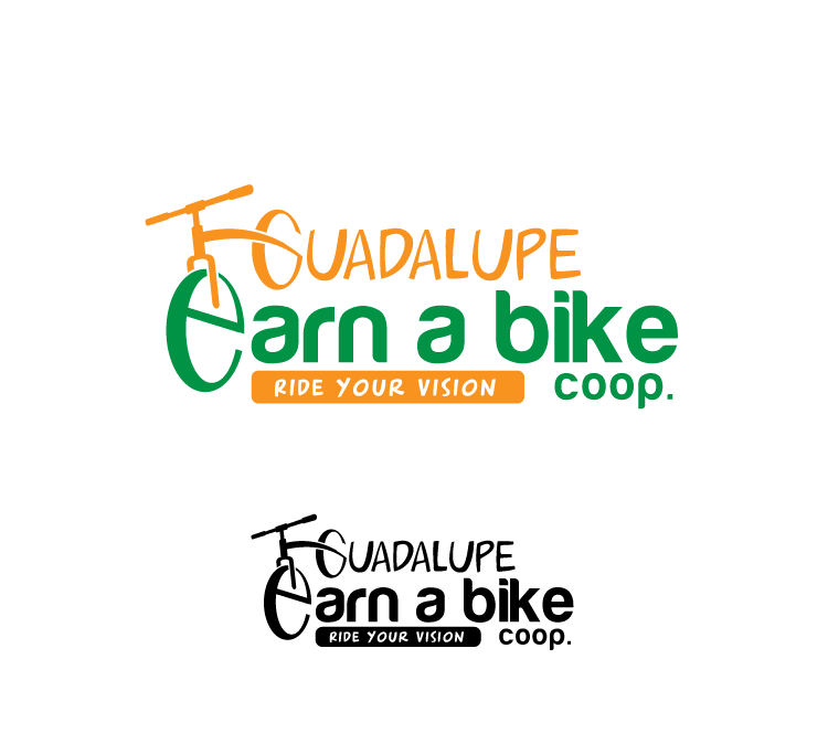 Logo Design by Shinta Dewi - Entry No. 32 in the Logo Design Contest Inspiring Logo Design for Guadalupe Earn a Bike Coop..