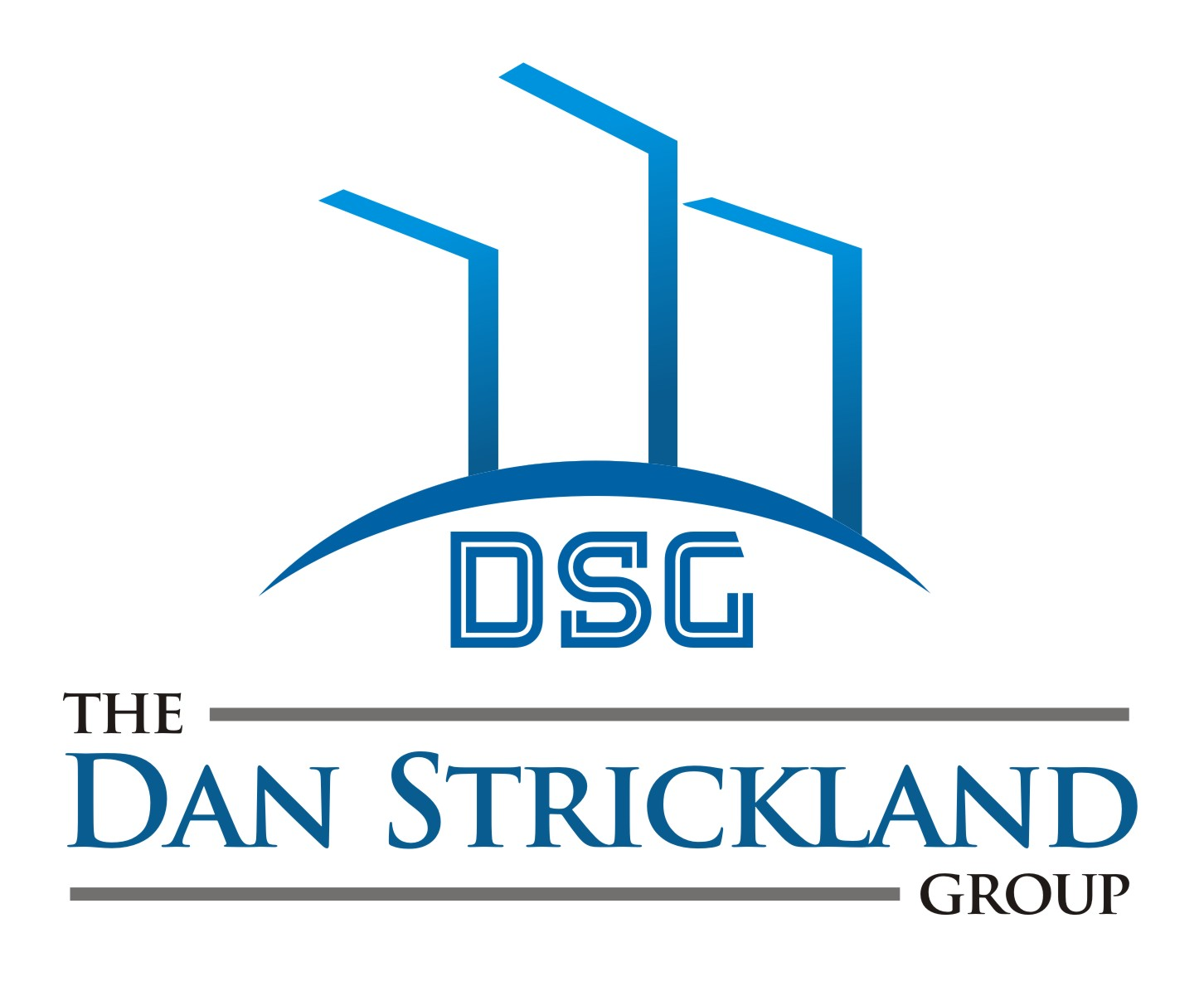 Logo Design by Arief Zuhud Romdhon - Entry No. 263 in the Logo Design Contest Creative Logo Design for The Dan Strickland Group.