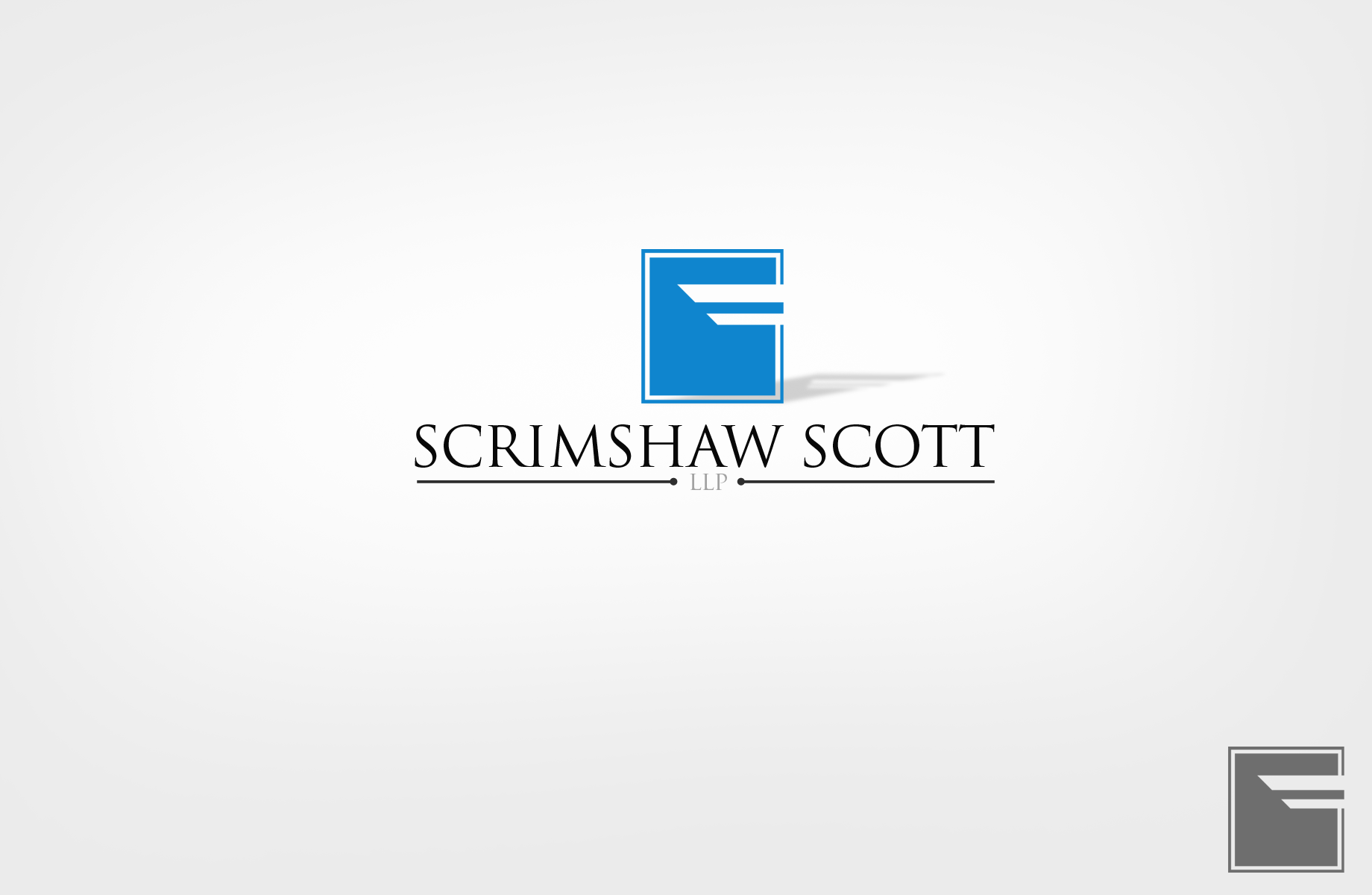 Logo Design by Jan Chua - Entry No. 35 in the Logo Design Contest Creative Logo Design for Scrimshaw Scott LLP.