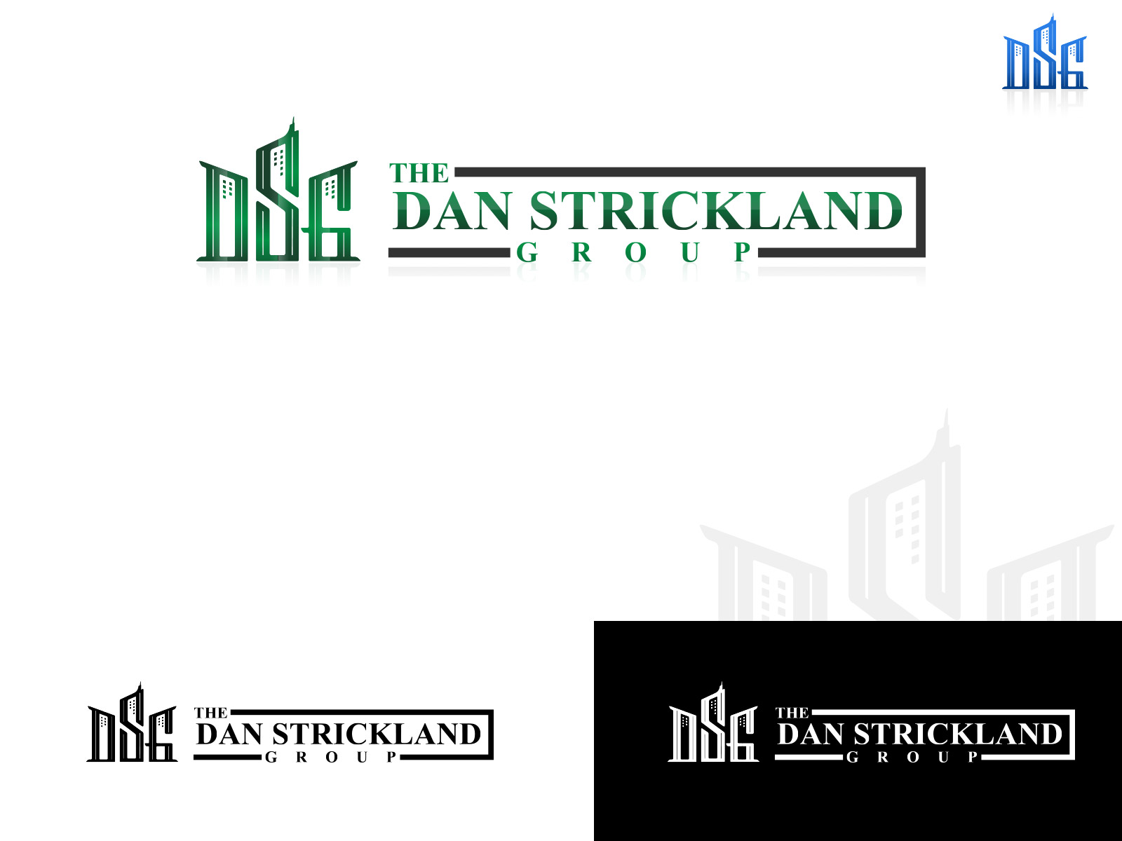 Logo Design by olii - Entry No. 265 in the Logo Design Contest Creative Logo Design for The Dan Strickland Group.