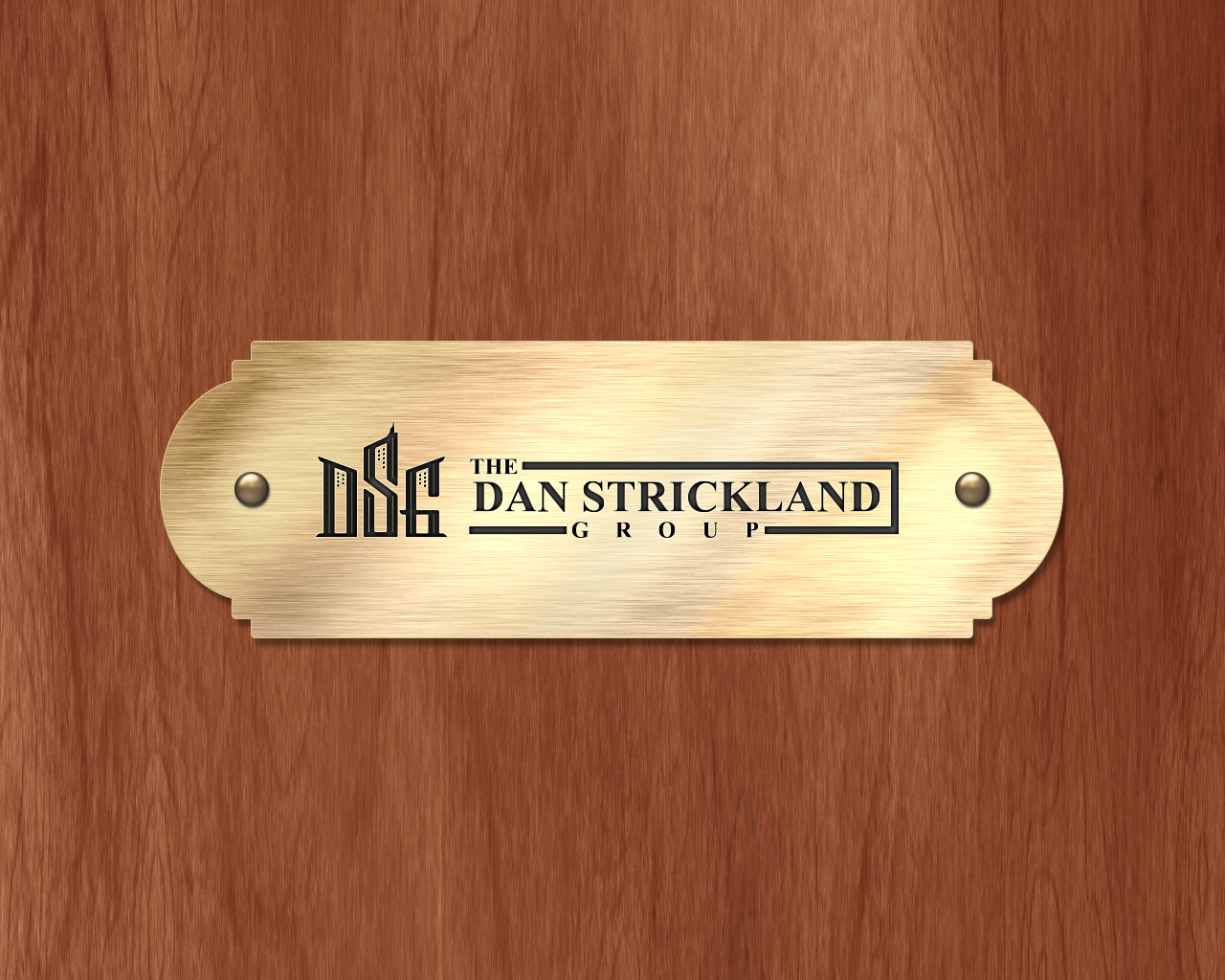 Logo Design by olii - Entry No. 275 in the Logo Design Contest Creative Logo Design for The Dan Strickland Group.
