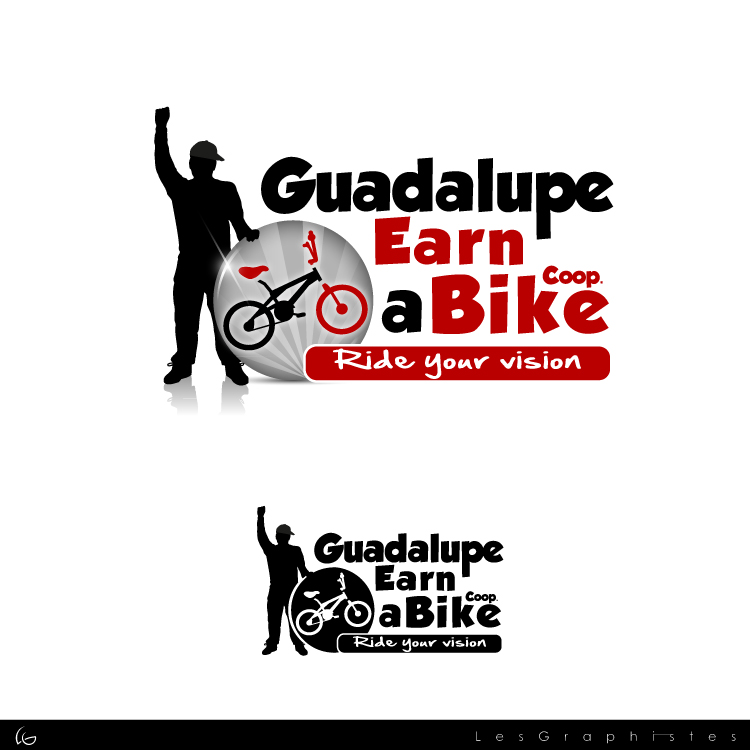 Logo Design by Les-Graphistes - Entry No. 36 in the Logo Design Contest Inspiring Logo Design for Guadalupe Earn a Bike Coop..
