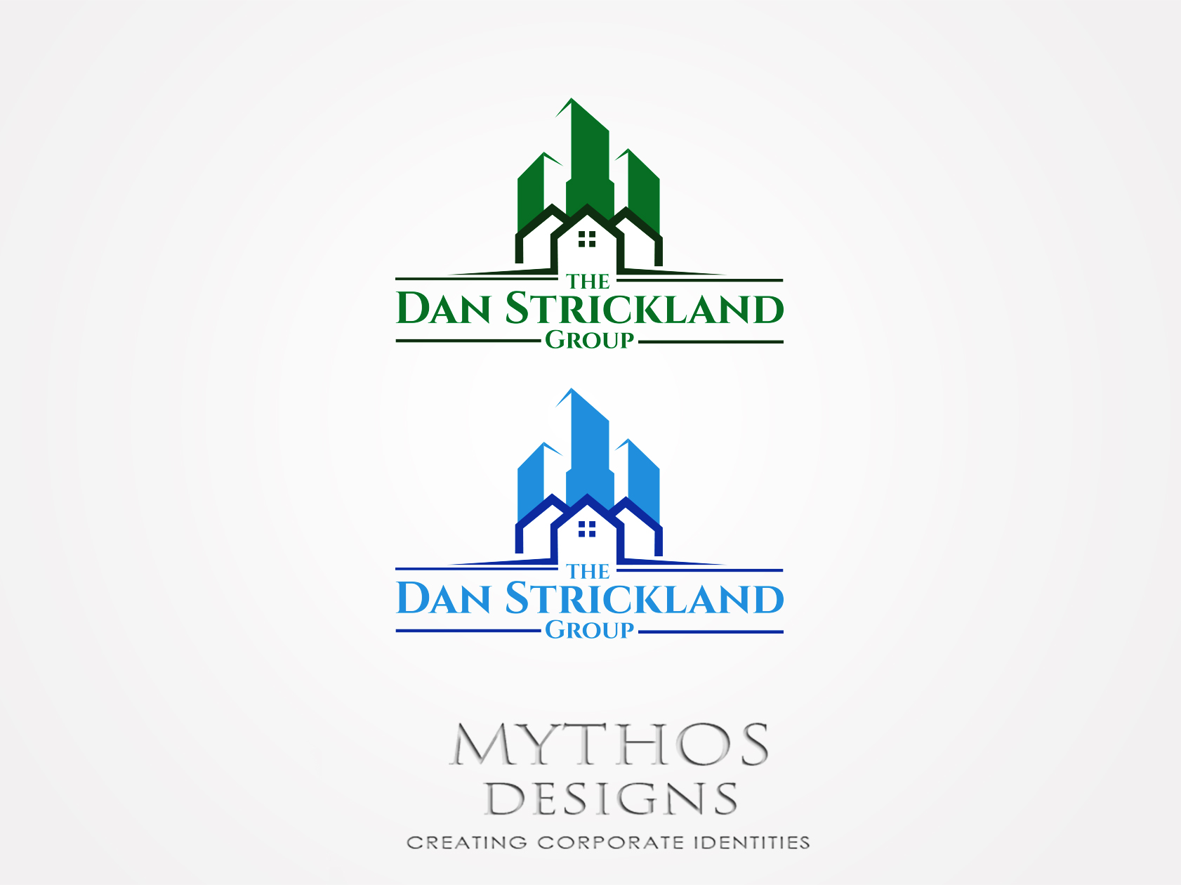 Logo Design by Mythos Designs - Entry No. 276 in the Logo Design Contest Creative Logo Design for The Dan Strickland Group.